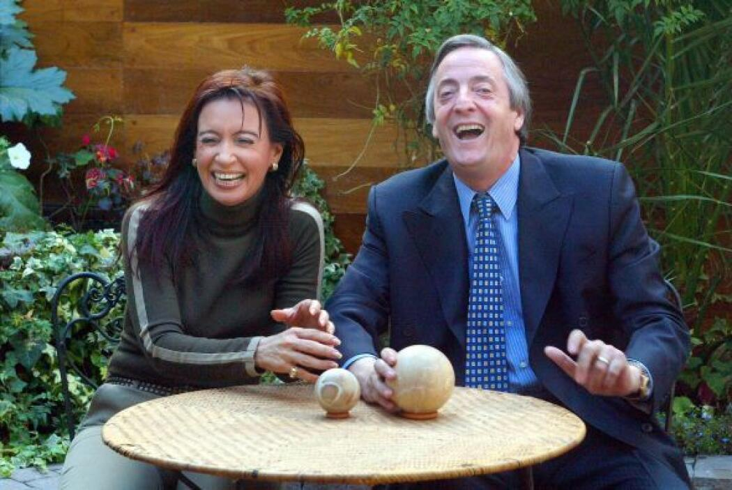 La actual presidenta de Argentina, Cristina Kirchner, ha dicho que la co...