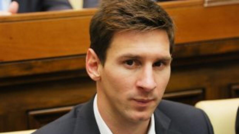 El argentino Lionel Messi protagoniza una muestra sobre el fútbol en Ros...