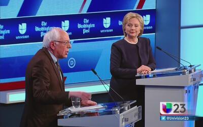 Aquí lo más importante del debate demócrata