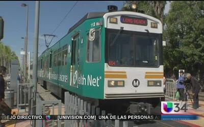 """""""Ojos en el cielo"""" vigilarán el metro de LA"""