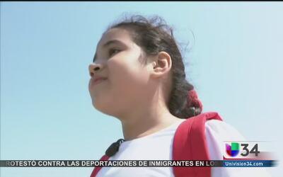 Fatal primer día de clases para niña inmigrante