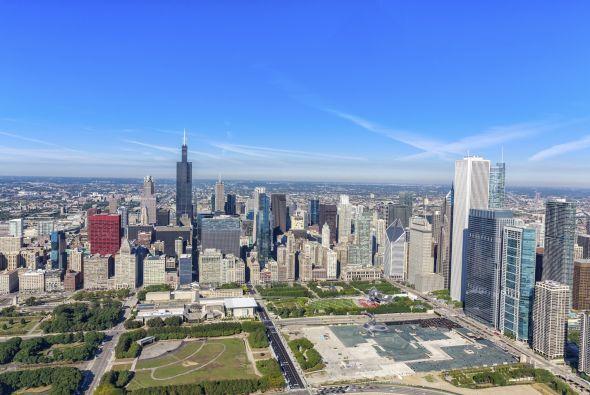 8. Chicago: Si el verano es tu estación y quieres refrescarte sin bañart...