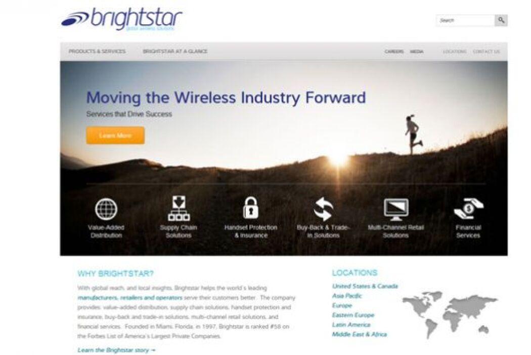 1. Brightstar Corp.  Ubicación- Miami, Florida.  CEO- Marcelo Claure.  T...