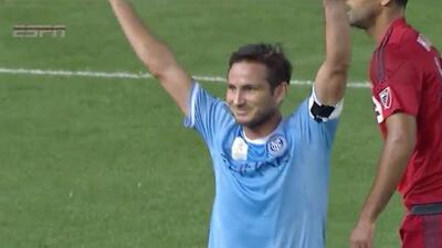 Frank Lampard marca su primer gol en la MLS