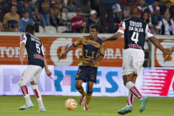 Pero antes de que terminara el partido, Javier Cortés le puso el...