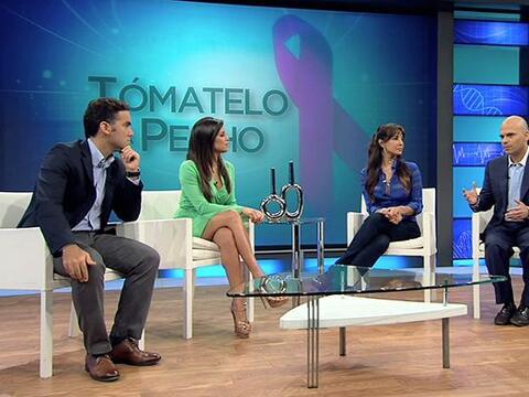 Hace 4 años a la actriz Lorena Rojas se le detectó un tumo...