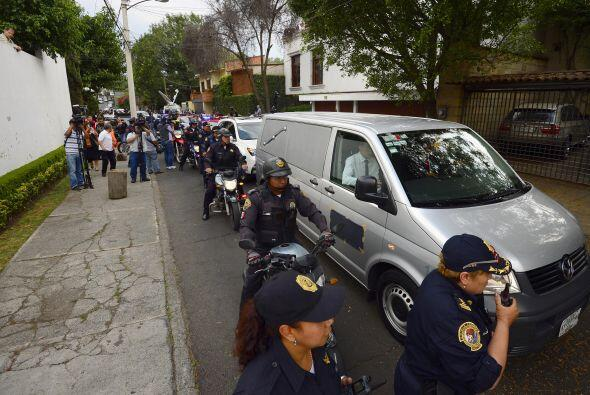 Los restos del Nobel de Literatura colombiano fueron llevados a una fune...