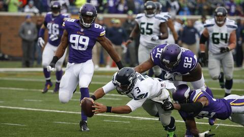 Seahawks 38-7 Vikings: Duro golpe de Seattle a Minnesota (video)
