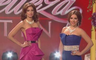 Son mujeres bellas. Lucharon mucho para llegar a Nuestra Belleza Latina