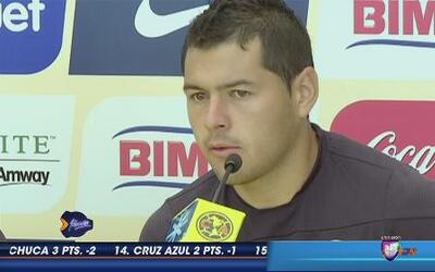 Pablo Aguilar: 'La estrella del América es el equipo'