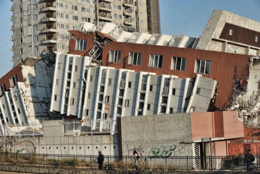 La zona afectada abarcó de norte a sur, las regiones de Valparaíso, Sant...