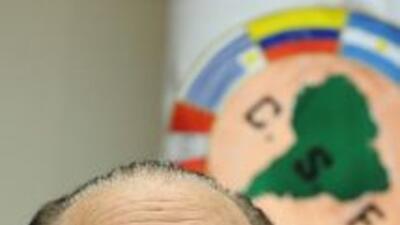 El expresidente de la Conmebo, el paraguayo Nicolás Leoz, de 84 años, fu...