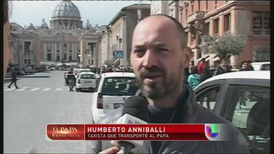 Habló el taxista que trasportó al cardenal Jorge Mario Bergoglio hace un...