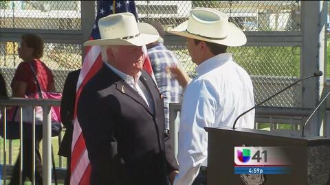 Gobernador de Tamaulipas y consejero de Trump se reúnen en la frontera
