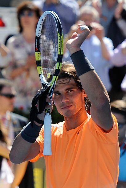 El español Rafael Nadal debutó en el Masters 1000 de Madri...