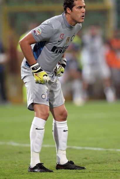 El arquero del Inter de Milán fue pilar para el primer triunfo de...