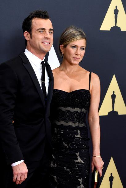 La estrella de cine y su prometido, el guapo Justin Theroux se presentar...