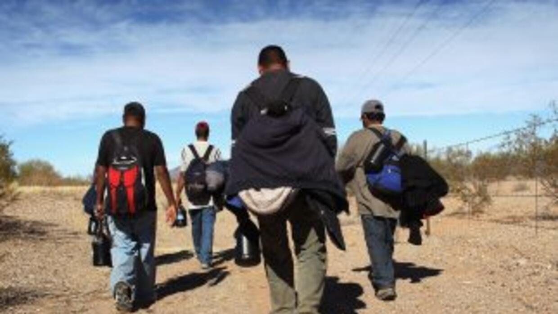 Cubanos están llegando a Estados Unidos vía terrestre