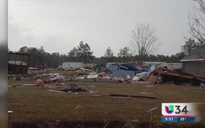 Declaran estado de emergencia en al menos 16 condados de Georgia