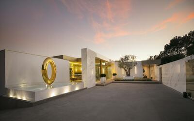 La mansión OPUS, composición artística a gran escala.