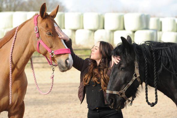 """""""Con los caballos es mucho más fácil de hacer porque no ti..."""