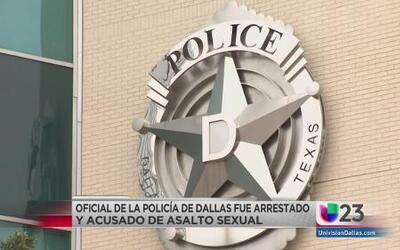 Oficial de policía arrestado por asalto sexual