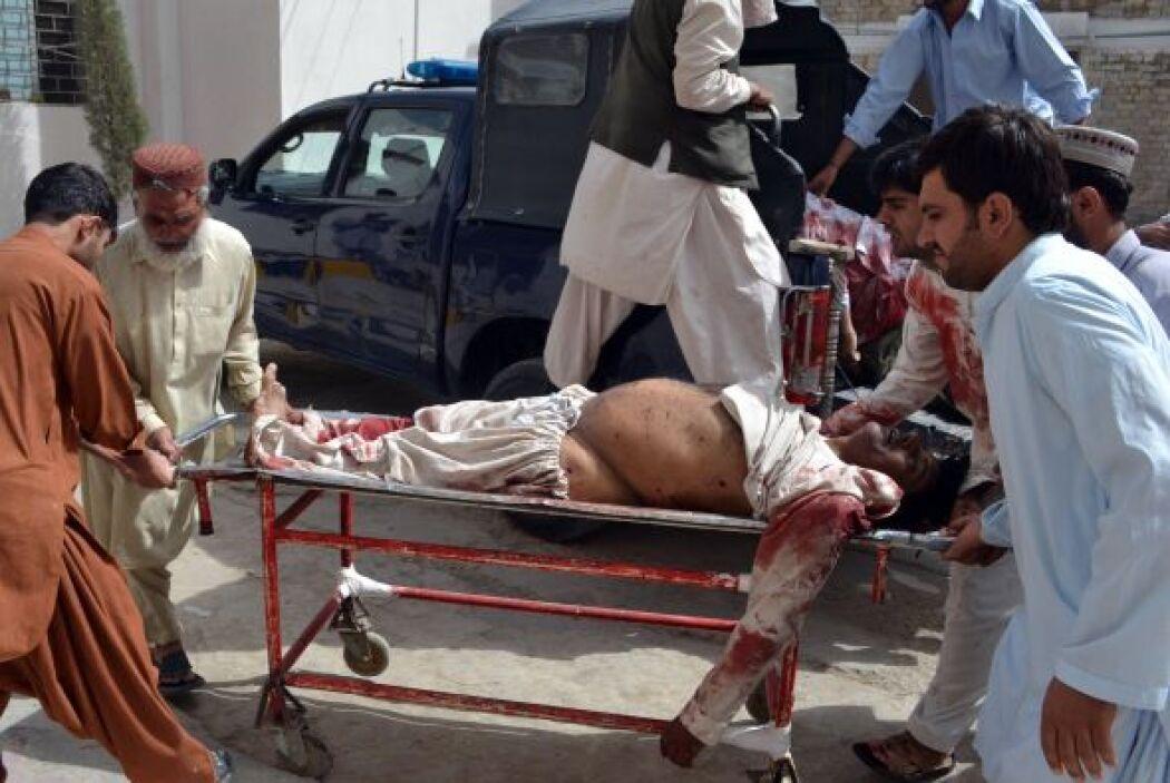 """""""Se trata de un atentado suicida"""", precisó Salim Shahwani, funcionario d..."""