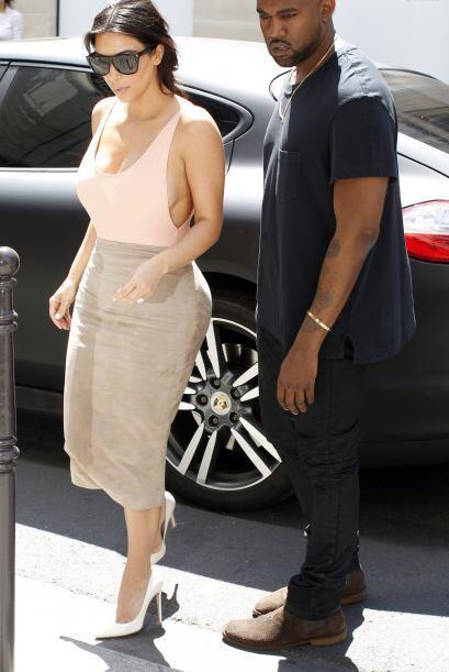 Estaba acompañada por su amado Kanye West.Mira aquí lo &ua...