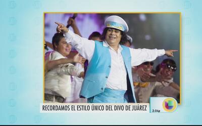 Recordamos el estilo único del Divo de Juárez