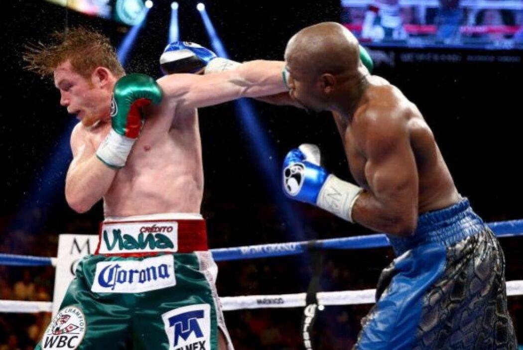 Álvarez confirmó que no había llegado con nada de boxeo ni defensivo ni...
