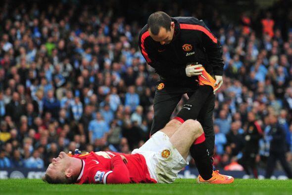 Y el mismo Rooney se dolió en la parte final del juego, tal vez p...