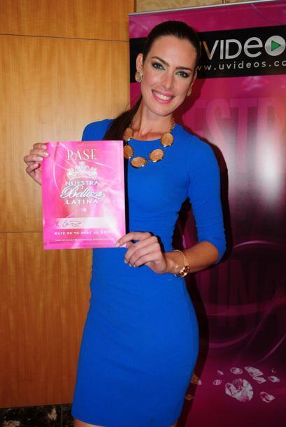 Yisel Pereira de Cuba, audicionó en Miami. Ella es una de bellas que gan...
