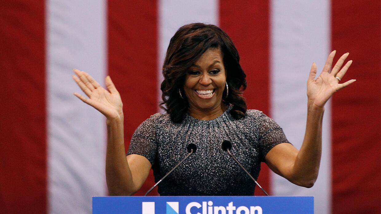 Durante su discurso en Phoenix, Michelle Obama recordó cómo tras la pode...