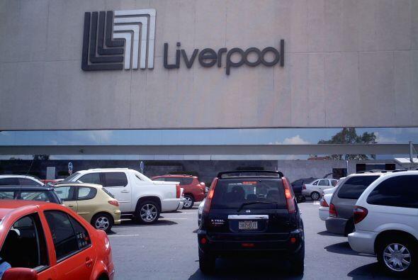 5. LIVERPOOL. Desde México, la línea de tiendas departamentales es valua...