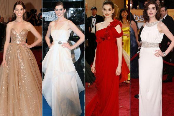 Anne Hathaway no sólo nos ha enamorado con sus actuaciones, los a...
