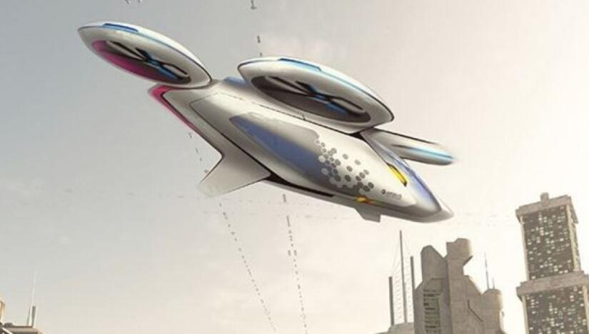 Imagen conceptual de un vehículo aéreo de Airbus