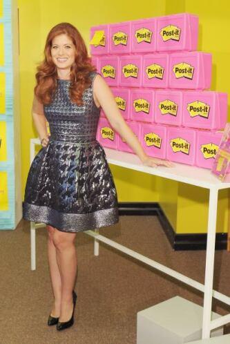 Claro ejemplo de lo que les decimos es el vestido de la actriz, Debra Me...