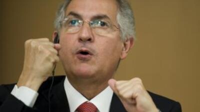El Alcalde de Caracas, Antonio Ledezma.