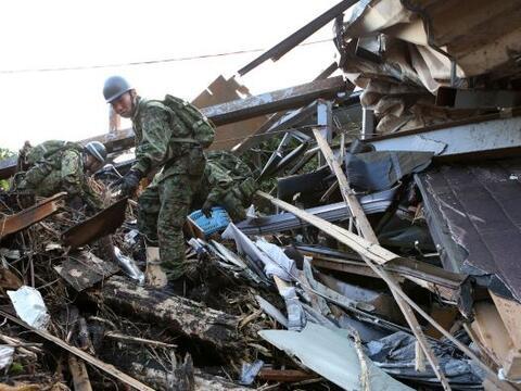 El tifón Wipha, considerado el mayor de los últimos 10 años en Japón, ca...