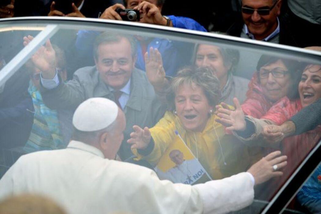 Luego, en el santuario de San Damián, el Papa se recogerá a orar en el l...