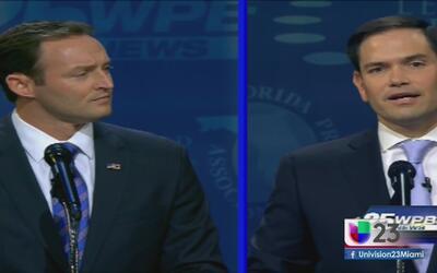 Resumen del segundo debate entre Marco Rubio y Patrick Murphy