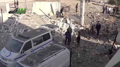 ONU: 50 civiles mueren en ataques a hospitales y escuelas en Siria siria...