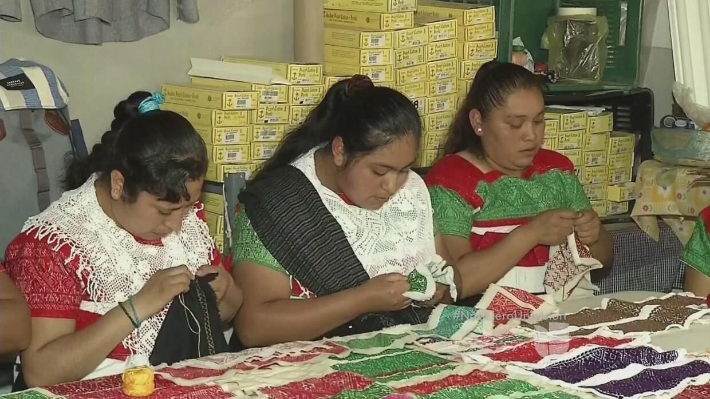 Novedoso proyecto social para mujeres indígenas artesanas en México