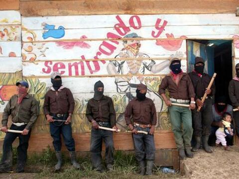 El alzamiento zapatista de México cumple este miércoles su...
