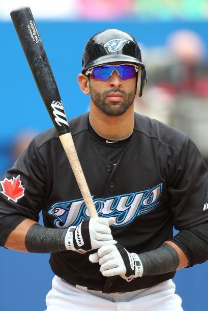 RF.   José Bautista. Azulejos de Toronto. El dominicano bateó para .471...