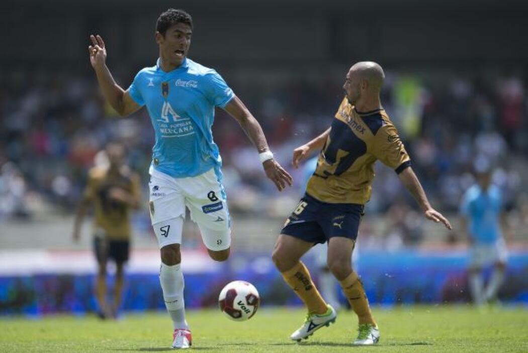 Pumas debutó con un triunfo tras conseguir el campeonato en el 2011 al v...