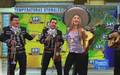 """¡Ay, ay, ay! Escucha la canción del """"weather"""" de Ximena con Mariachi"""