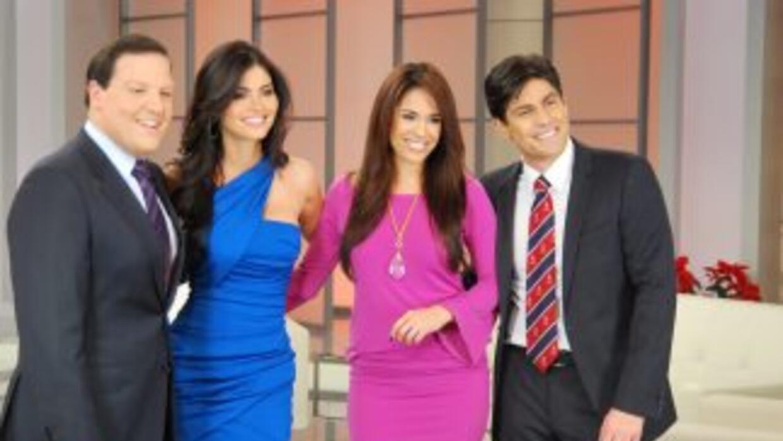La bella venezolana se une al equipo de Despierta América a partir de en...