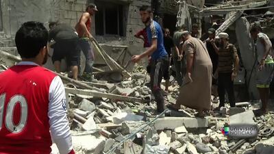 La tregua de 7 horas de Israel para suspender ataques se rompió en la zo...