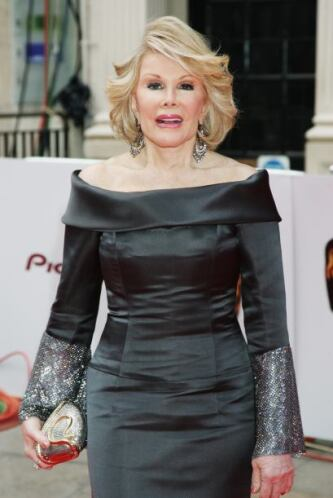 Descanse en paz Joan Rivers, siempre serás recordada...